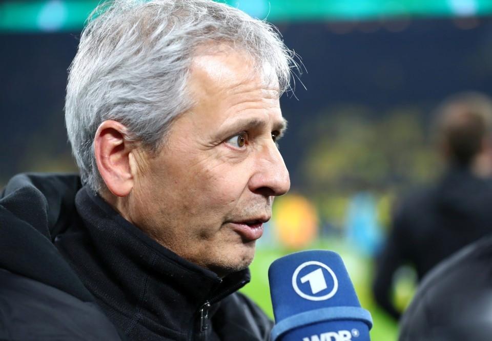 20192020, Vereinspokal, Fussball, Fußball, GER, Herren, Saison, Sport, football, Portrait, Mikrofon - BVB - Borussia Mönchengladbach