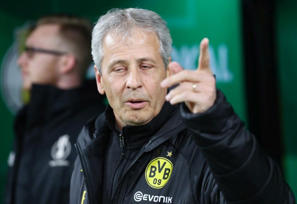 20192020, Vereinspokal, Fussball, Fußball, GER, Herren, Saison, Sport, football, Halbfigur, halbe, Figur, Halbkörper, Gestik, Handbewegung - BVB - Borussia Mönchengladbach