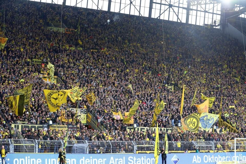 Heimspiel, 1. Bundesliga, 10. Spieltag, WOB, VfL, Wolfsburg, Heimsieg, Fußball, Saison, 2019-2020, Borussia, Dortmund, BVB, 09 - BVB - VfL Wolfsburg