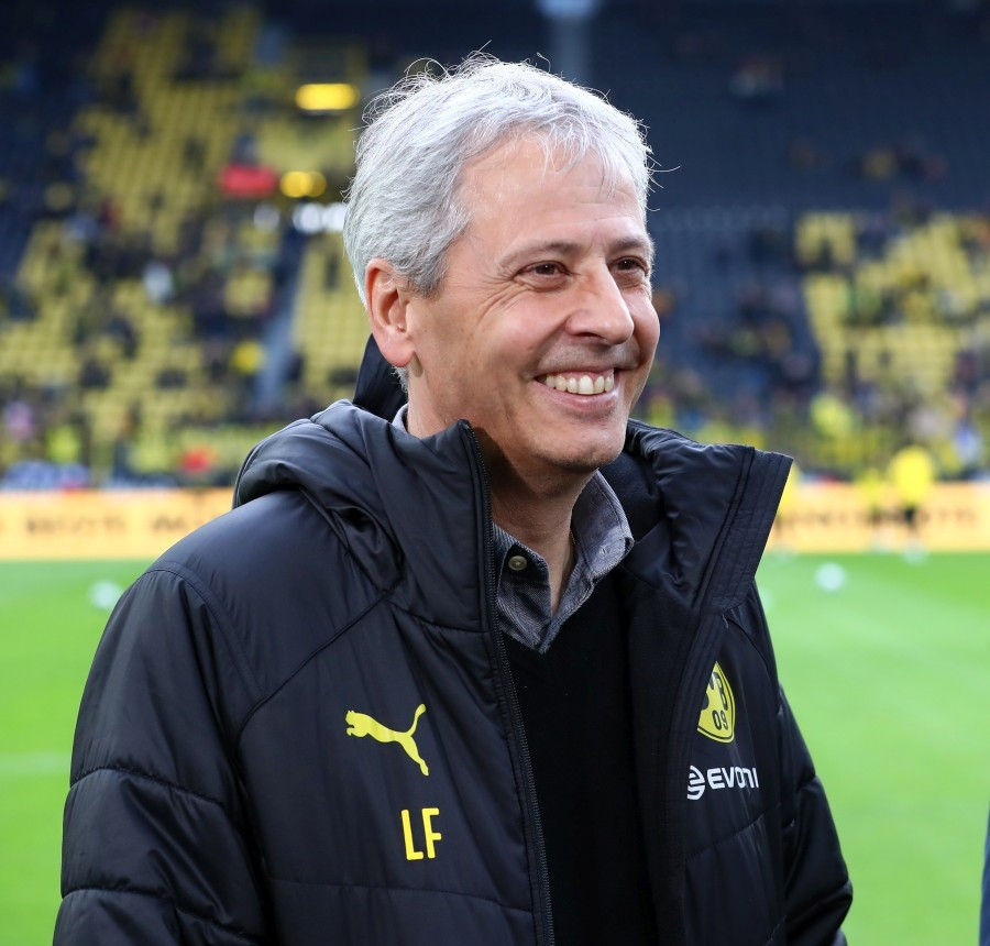 201920, 1. Bundesliga, Fussball, Fußball, GER, 1.BL, 1. BL, Herren, Saison, Sport, football, Halbfigur, halbe, Figur, Halbkörper - BVB - VfL Wolfsburg