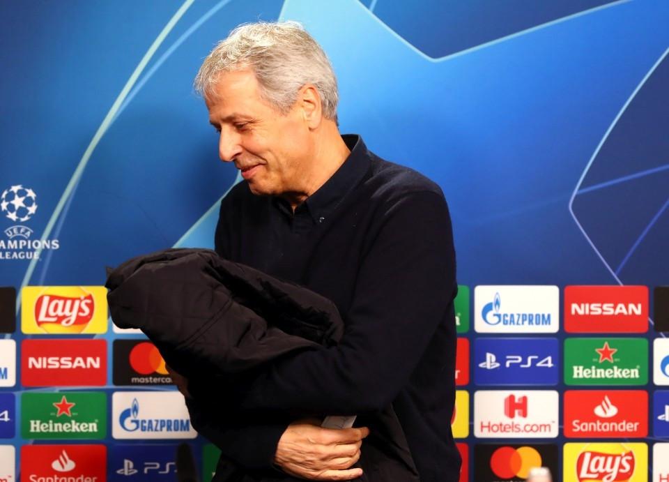 201920, Fussball, Fußball, UEFA, Herren, Saison, Sport, football, Gruppenphase, Vorrunde, UCL, Podium, Mikrofon, Portrait - BVB - Inter Mailand
