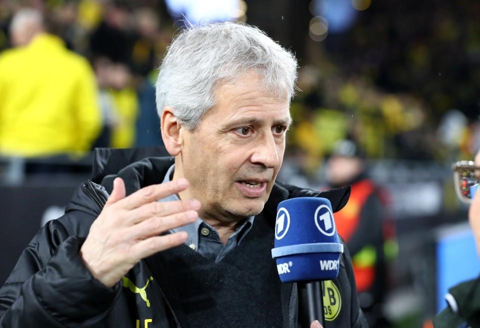 201920, 1. Bundesliga, Fussball, Fußball, GER, 1.BL, 1. BL, Herren, Saison, Sport, football, Mikrofon, Portrait, Gestik, Handbewegung - BVB - Leipzig