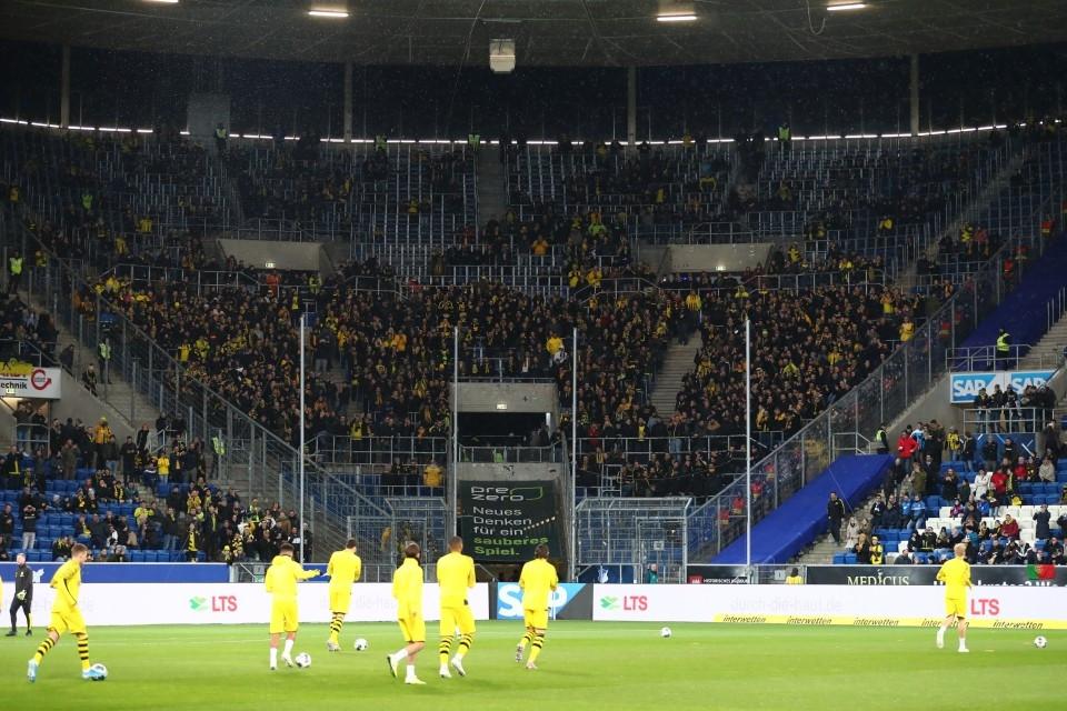17. Spieltag, Auswärtsspiel, TSG, 1899, Hoffenheim, 1. Bundesliga, Hinrunde, Fußball, Saison, 2019-2020, Borussia, Dortmund, BVB, 09 - TSG Hoffenheim - BVB