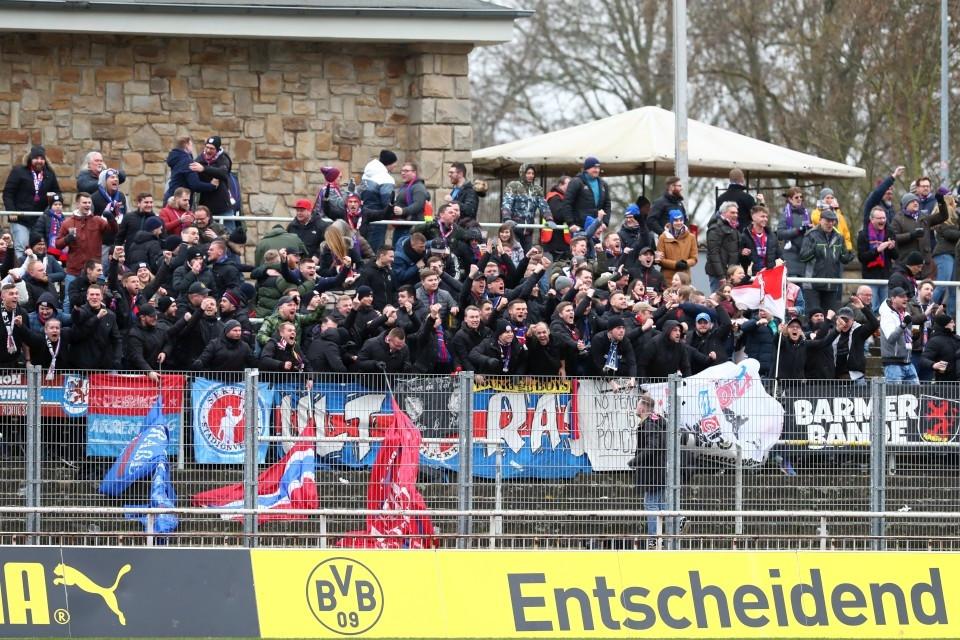 Regionalliga, West, 22. Spieltag, Heimspiel, Heimsieg, II, U23, Zweite, Zweitvertretung, Wuppertal, Wuppertaler, SV, WSV, Rückrunde, Fußball, Saison, 2019-2020, Borussia, Dortmund, BVB, 09 - BVB II - Wuppertaler SV