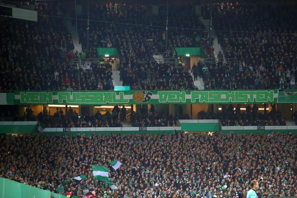 DFB-Pokal, Vereinspokal, 3. Runde, Achtelfinale, SVW, SV, Werder, Bremen, Auswärtsspiel, Fußball, Saison, 2019-2020, Borussia, Dortmund, BVB, 09 - Werder Bremen - BVB