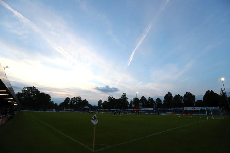20202021, Fussball, Fußball, Herren, Saison, Sport, football, Zweitvertretung, Reserve, 4. Liga, GER, NRW, U23, Amas, Amateure - SC Wiedenbrück - BVB II