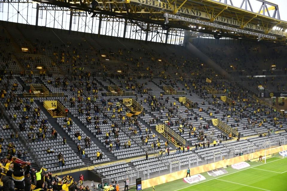 1. Bundesliga, 3. Spieltag, SC, Freiburg, SCF, Hinrunde, Heimsieg, 2020, 2021, 2020-21, BVB, 09, Borussia, Dortmund, Fußball, Saison - BVB - SC Freiburg