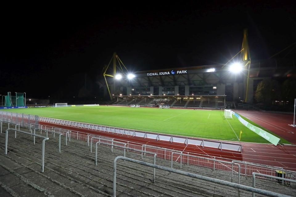 20202021, Fussball, Fußball, Herren, Saison, Sport, football, Zweitvertretung, Reserve, 4. Liga, GER, NRW, U23, Amas - BVB II - SC Preußen Münster