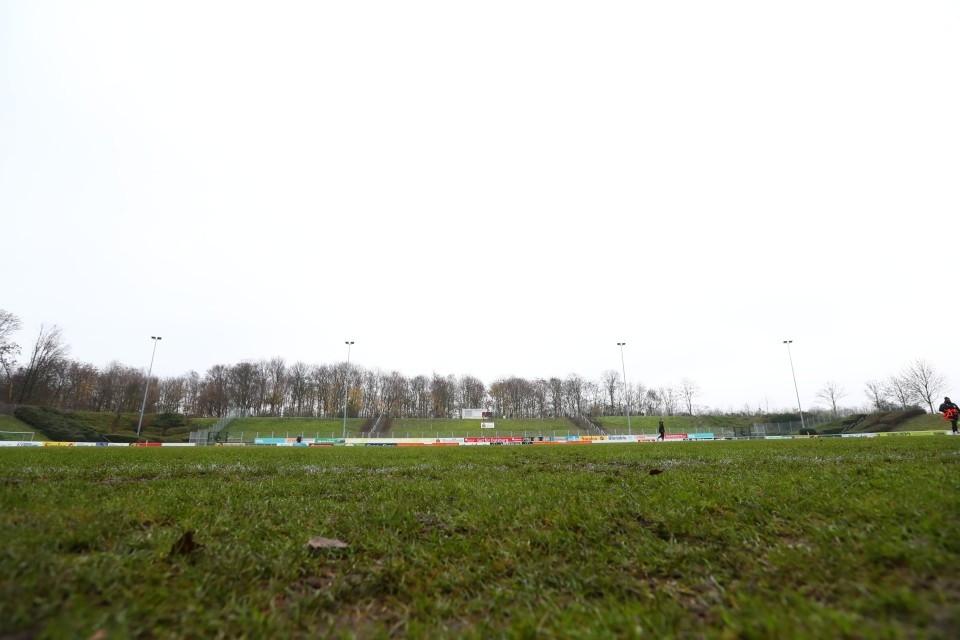 20. Spieltag, Auswärtsspiel, Unentschieden, VfB, Homberg, U23, II, Amateure, Amas, Regionalliga, West, RL, Hinrunde, 2020, 2021, 2020-21, BVB, 09, Borussia, Dortmund, Fußball, Saison - VfB Homberg - BVB II