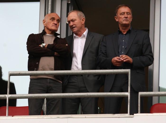 Martin Kind im Niedersachsenstadion