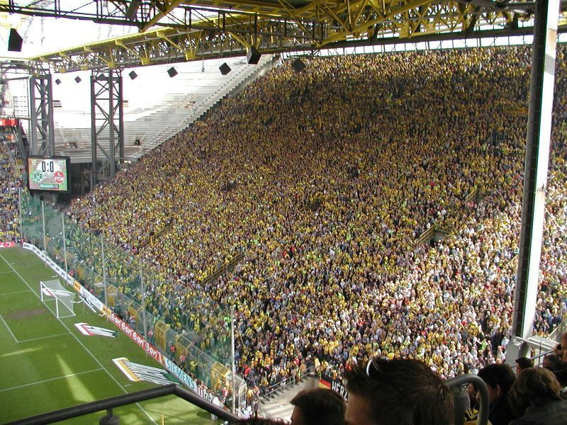 Das Heimspiel gegen Nürnberg 2003