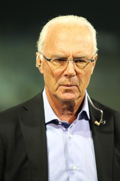 Franz Beckenbauer redet mittlerweile nicht mehr so gerne