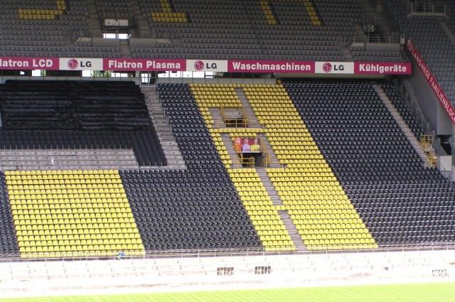 Westtribüne Westfalenstadion