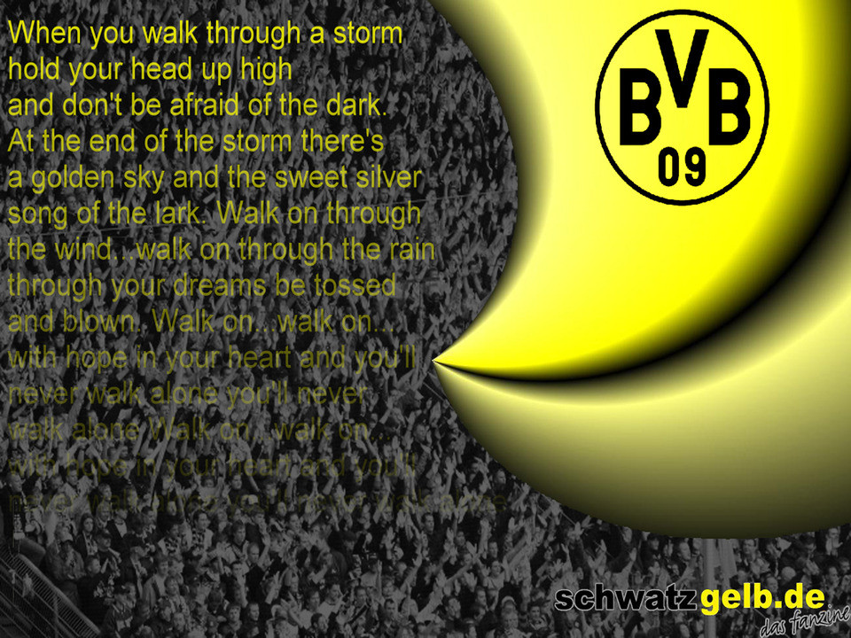 You will never walk alone lyrics