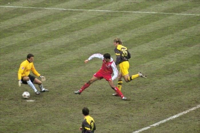 Einer der Tiefpunkte: 0:5 in München
