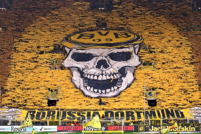 Choreo gegen Wolfsburg 2011/12