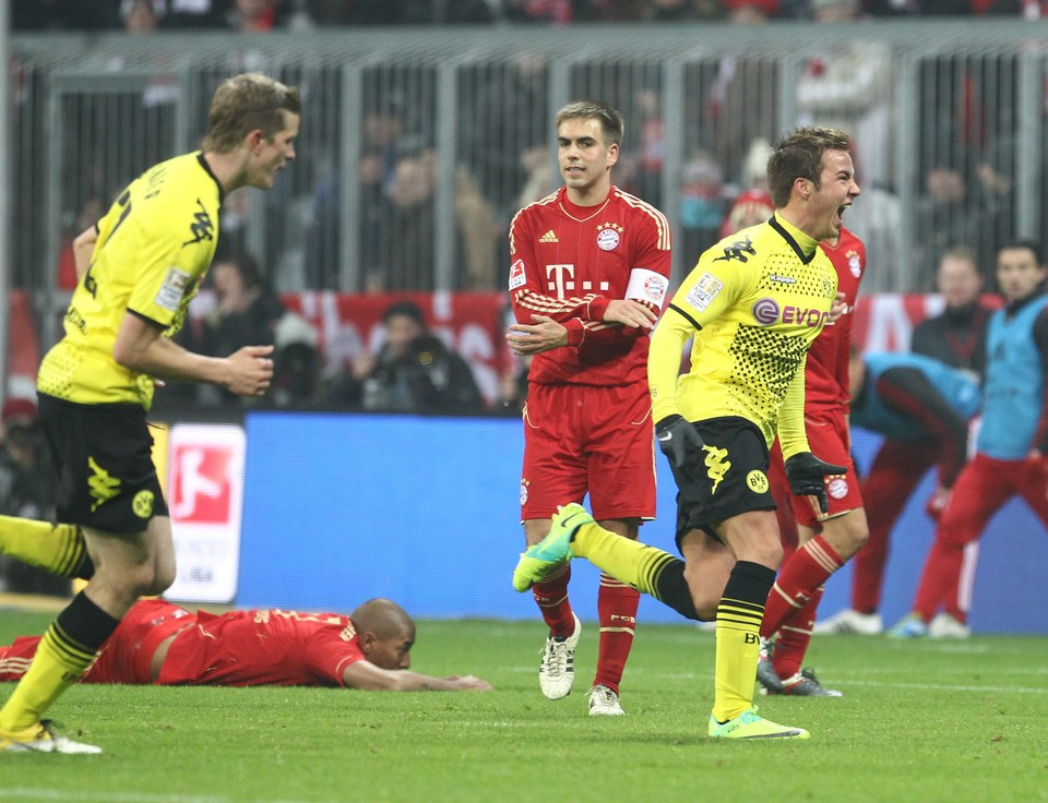 Mario Götze - here in black and yellow