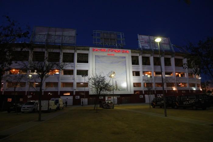 Sowohl vor dem Stadion auch im Stadion spielten sich unschöne Szenen ab