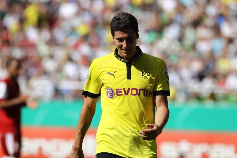 Ob Posen oder Dortmund: Das gleiche Muster bei Lewandowski