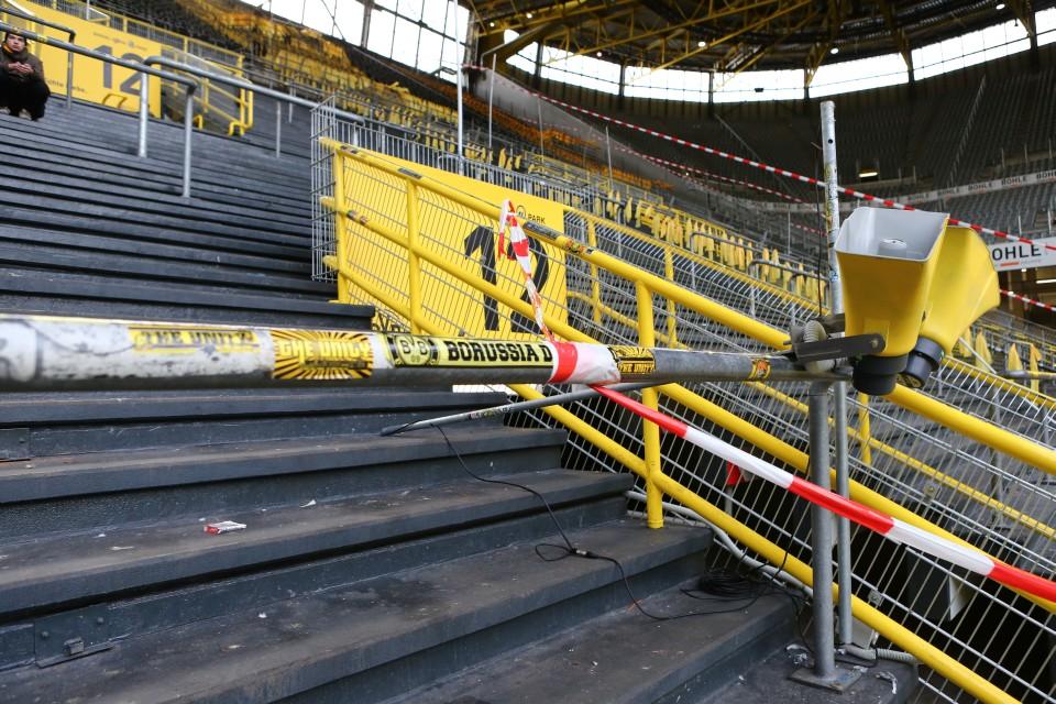 Das Herz des Westfalenstadions sind die Stehplätze