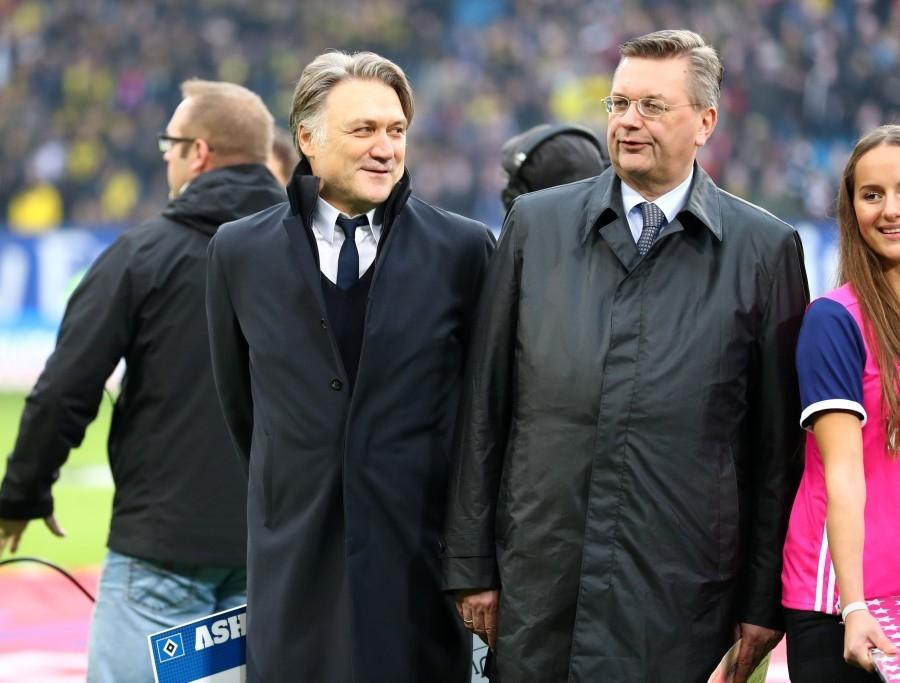 DFB-Präsident Grindel (rechts) ist nun gefragt