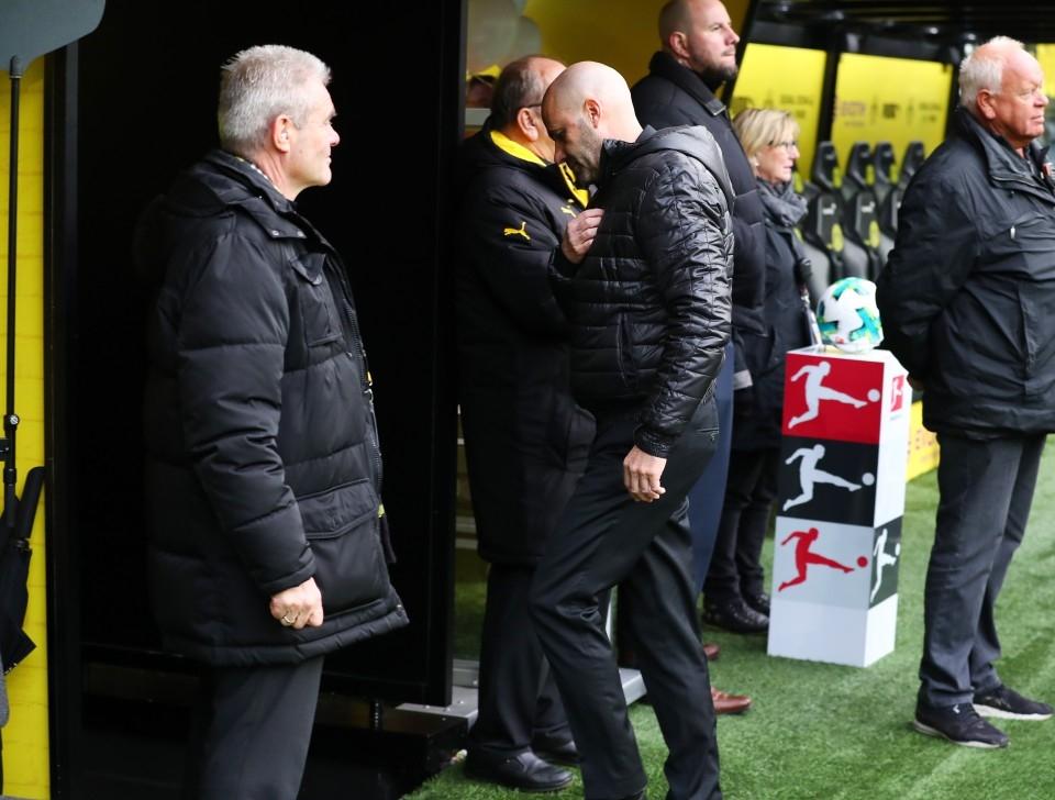 Peter Bosz musste nach der Niederlage gegen Bremen gehen.